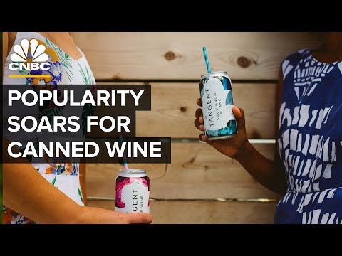 Canned Wine Is Now A $45 Million Industry