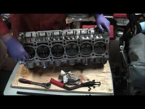 Mercedes Benz W202 C280 Engine M104 Head Rebuild