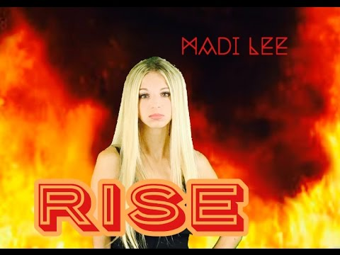 Rise - Katy Perry (Official Music Video) Cover