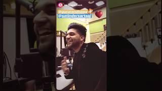 Guru Randhawa Singing Live Udaarian by Satinder Sartaj | Viral s | Whatsapp Status