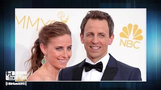 Seth Meyers' Wife Is Way More Handy Around the House Than He Is