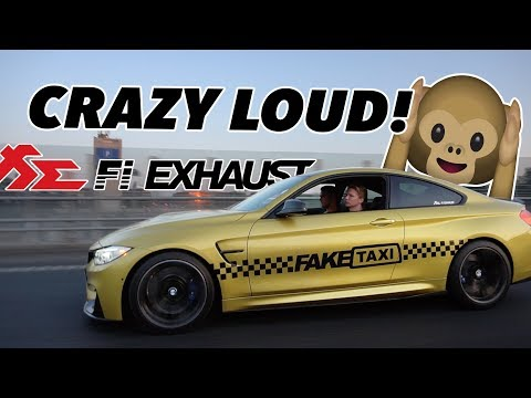 INSTALLING FI EXHAUST ON MY 2014 BMW M4 - CRAZY LOUD!