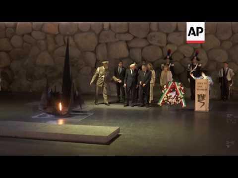 Italian President visits Yad Vashem