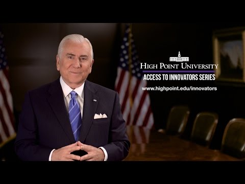 High Point University Presents a Conversation with Dr. Condoleezza Rice and Dr. Nido R. Qubein