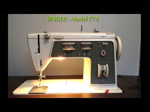 Singer sewing machine repair - Model 774