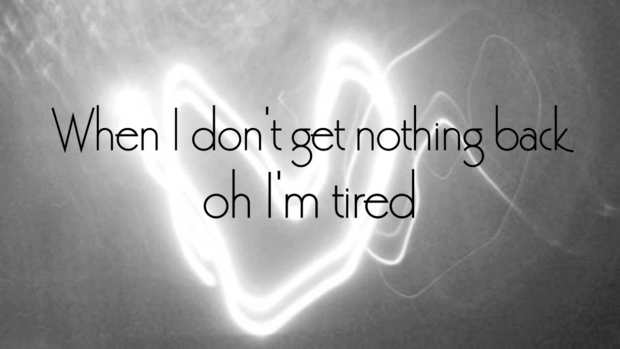 Adele - Tired Lyrics | MetroLyrics
