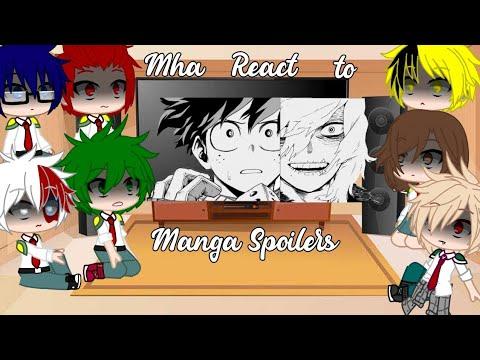 ||✨ Mha React To The Future ✨|| Manga Spoilers