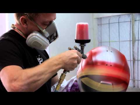 Brett King Design : Custom Helmet Painter