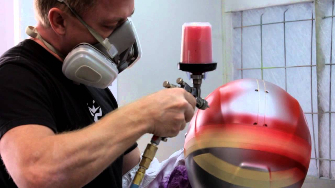 Brett King Design Custom Helmet Painter Youtube