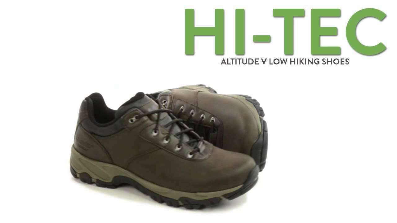 Altitude Hiking Hi Low Youtube V Tec Waterproof Shoes for Men FR66q5wIxr