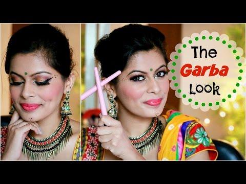 makeup by ethnico-Navratri Festive Makeup Look | The Garba Look | Gujrati | Kavya K