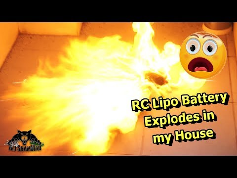 lipo-explosion-lipo-fire-rc-lipo-battery-explodes-at-home