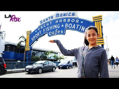 Santa Monica Pier Facts and Fun Things to Do for Kids and Families! LA Rox!