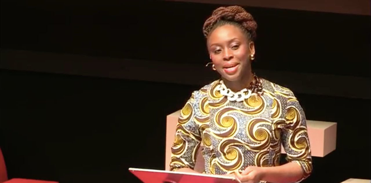 chimamanda adichie speech We teach girls that they can have ambition, but not too much to be successful, but not too successful, or they'll threaten men, says author chimamanda ngozi adichie.