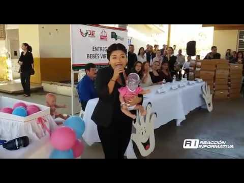 Busca DIF de Sinaloa concientizar jóvenes; entregan 50 bebés virtuales.