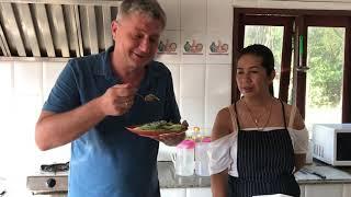 На тайской кухне. Готовим острый мясной салат Лам Бу
