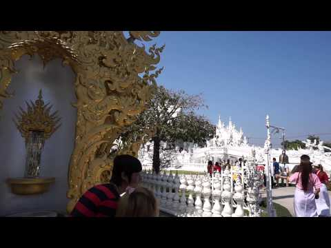 Wat Rong Khun The White Temple of Thailand