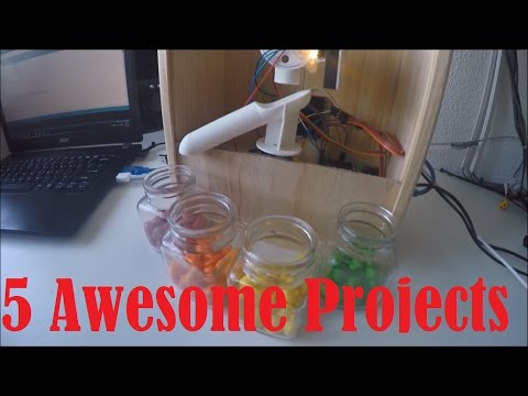 5 AWESOME ARDUINO PROJECTS