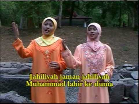Kisah Zaman JAHILIYAH Lewat Lagu - Cipt. H. M. Ali Sukarno - Ana Ft Nia
