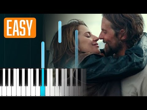 Lady Gaga - Always Remember Us This Way 100% EASY PIANO TUTORIAL