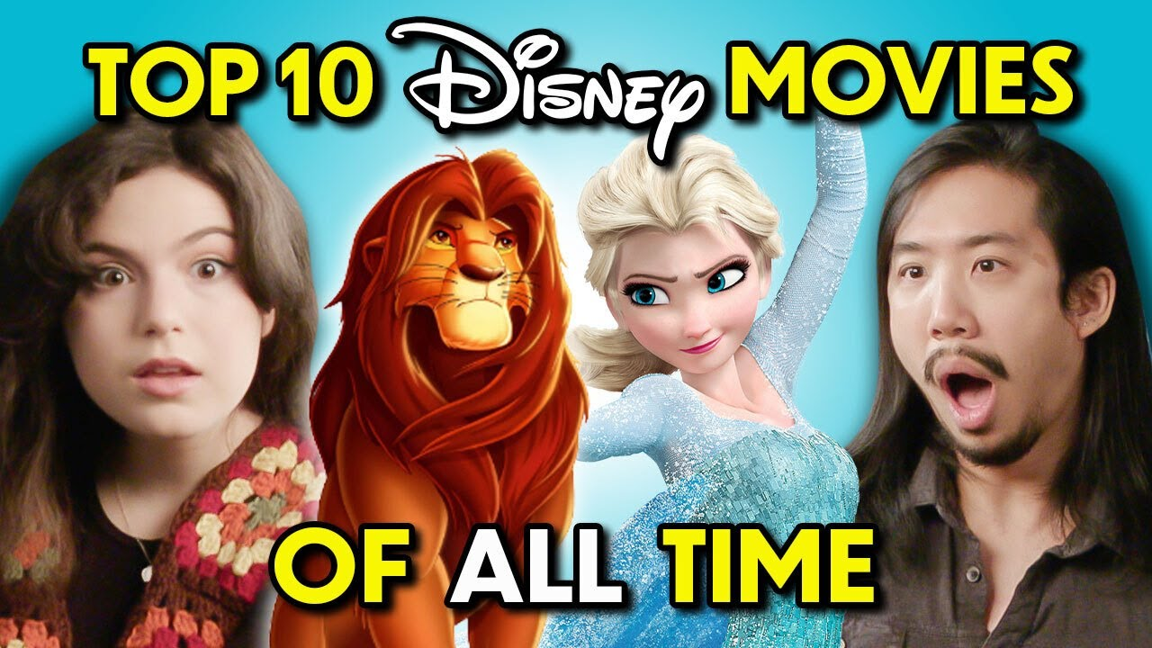 Adults React To The Top 10 Disney Movies Of All Time