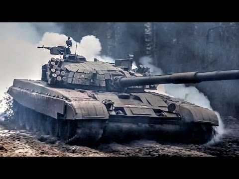 Polish Land Forces Tanks & Infantry Show Of Force