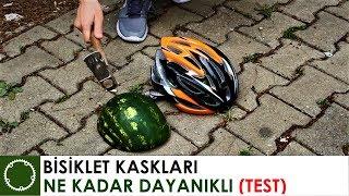 BİSİKLET KASKI DAYANIKLILIK TESTİ !
