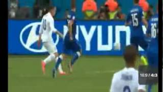 INGGRIS VS ITALIA 1-2 PIALA DUNIA 2014 (14/06/2014) HD