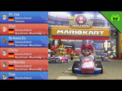 TEAM RAMPAGE 🎮 Mario Kart 8 #127