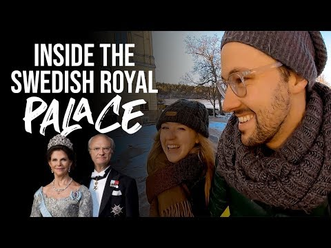 WE WENT INTO THE SWEDISH ROYAL FAMILY'S HOME + First Ikea Experience // Stockholm, Sweden