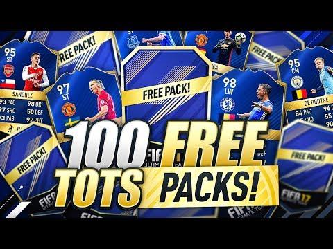 100 FREE TOTS PACKS!