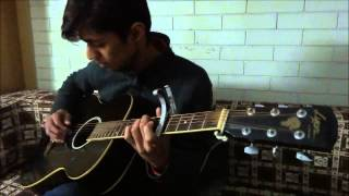 Adhi Adhi Raat by Bilal Saeed - Fingerstyle Guitar by Zeeshan Iqbal
