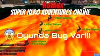 🔥Adam Pataklamaca!🔥 | Roblox Super Hero Adventures Online | Roblox Türkçe
