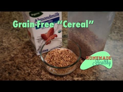 "Low Carb Breakfast ""Cereal"", Grain Free, Gluten Free, Keto"
