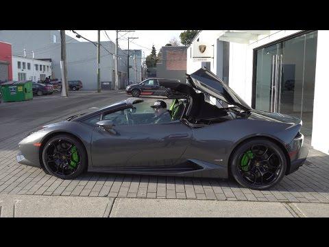 I was Given A Lamborghini Huracan Spyder [4K]