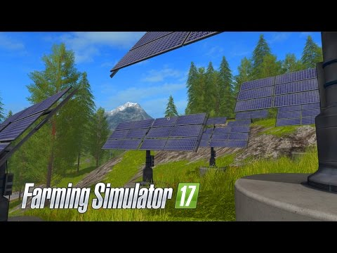 Farming Simulator 17 - E16 - Solar Panels | Gameplay | Let's Play