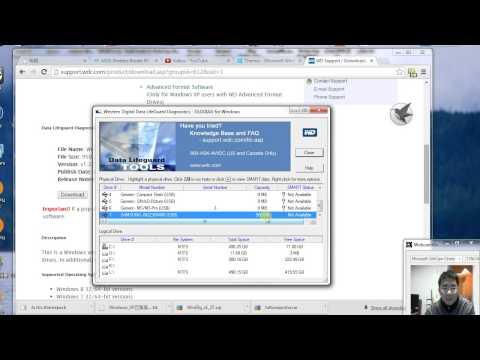 How to check error on hard drive using western digital data lifeguard