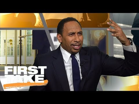 Stephen A. Smith loses it on Baker Mayfield, Lincoln Riley for emotional apology | First Take | ESPN