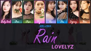 [4.43 MB] Lovelyz (러블리즈) - Rain (Lyrics) [Han|Rom|Eng Colour-Coded]