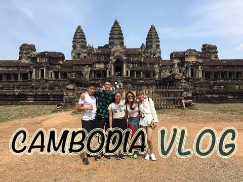 Siem Reap, Cambodia Travel Vlog - Angkor Wat, Bayon & etc!