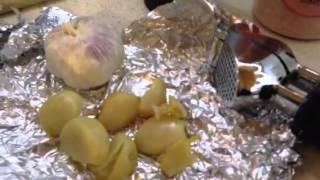 Cauliflower Pasta W/roasted Garlic