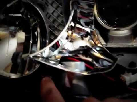 how to replace lexus headlightheadlampballastremoval