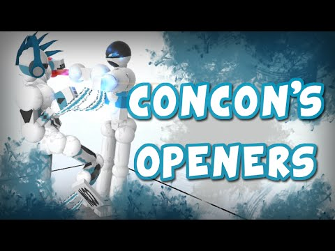 ConCon's 5 Aikido Openers In Toribash (5 Things)