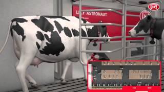 レリー搾乳ロボット アストロノートのフリーカウトラフィック牛舎の紹介...