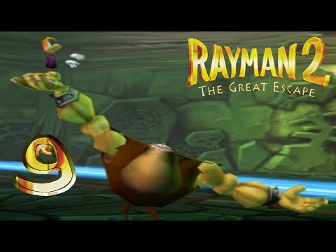 Rayman 2 Let's Play! Part 9: Spooky!