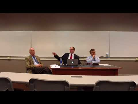 Debate on the Travel Ban at George Mason Law School