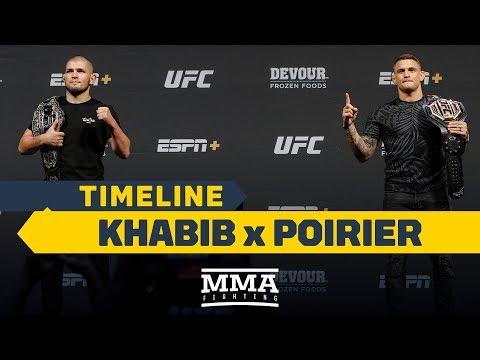 UFC 242 Timeline: Khabib Nurmagomedov Vs. Dustin Poirier - MMA Fighting