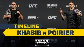 UFC_242_Timeline:_Khabib_Nurmagomedov_vs._Dustin_Poirier_-_MMA_Fighting