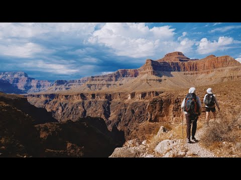 Hiking 25 Miles on the Grand Canyon Tonto Trail