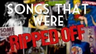 Repeat youtube video Songs That Were Ripped Off - One Minute Mashup #23